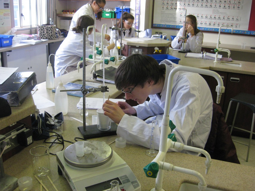 What is it like taking A level Chemistry?