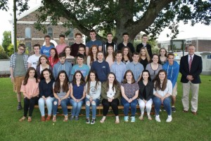Some of the 38 pupils who achieved 8 or more A*/A s at GCSE 2016